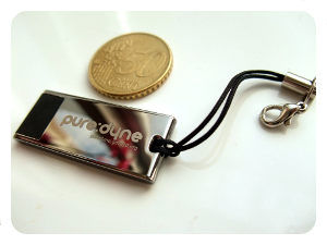 closed puredyne usb with coin